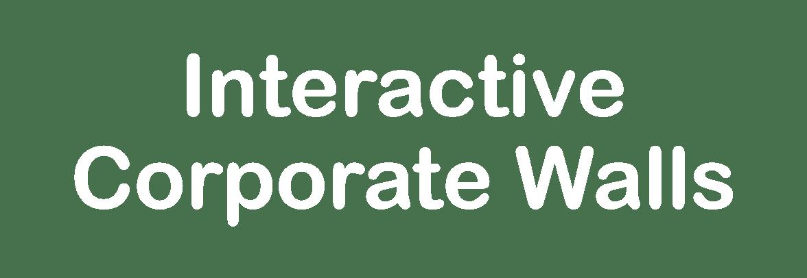 Interactive Corporate Walls