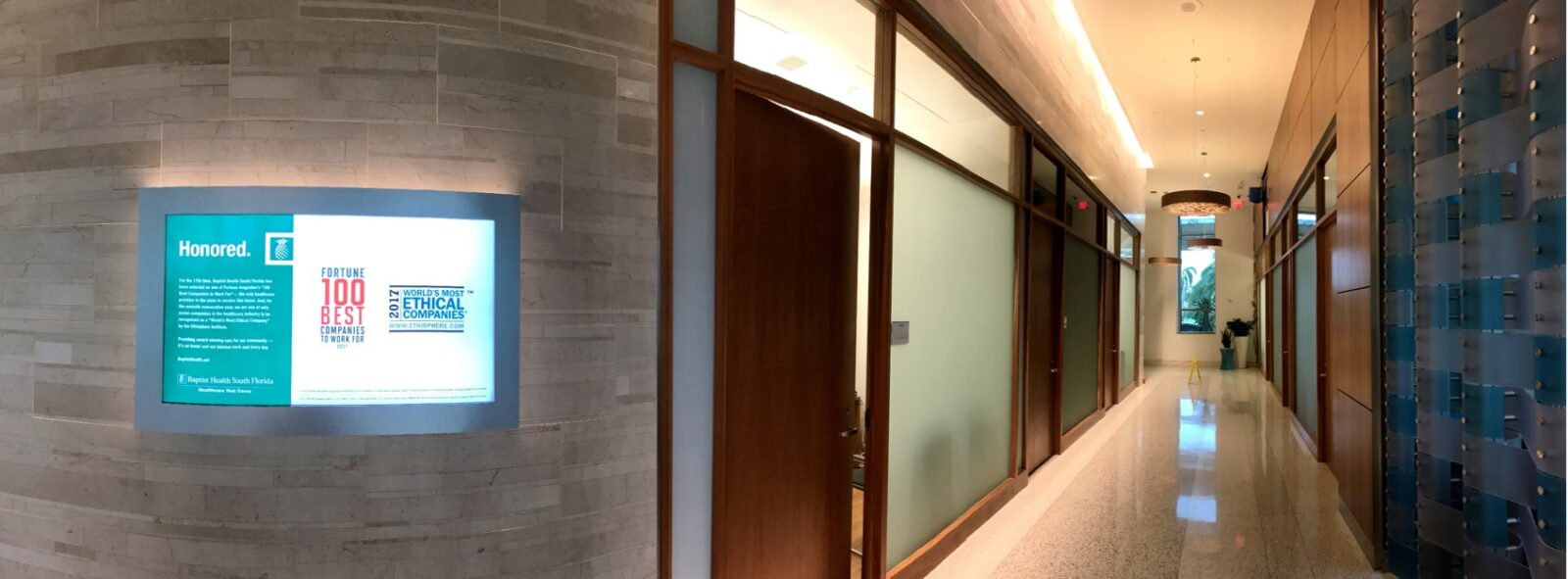 MCI Lobby Walkway