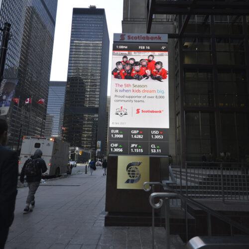 Scotia Bank LED Street Sign Media Ressources 10