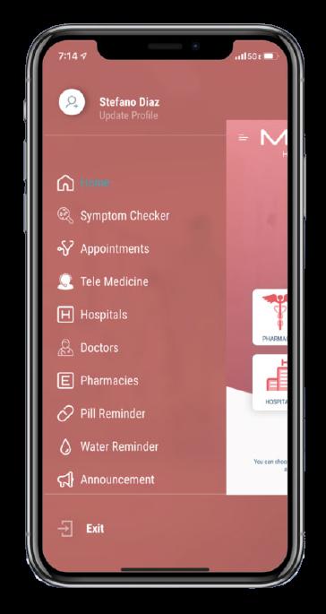 Patient Journey App DSignage