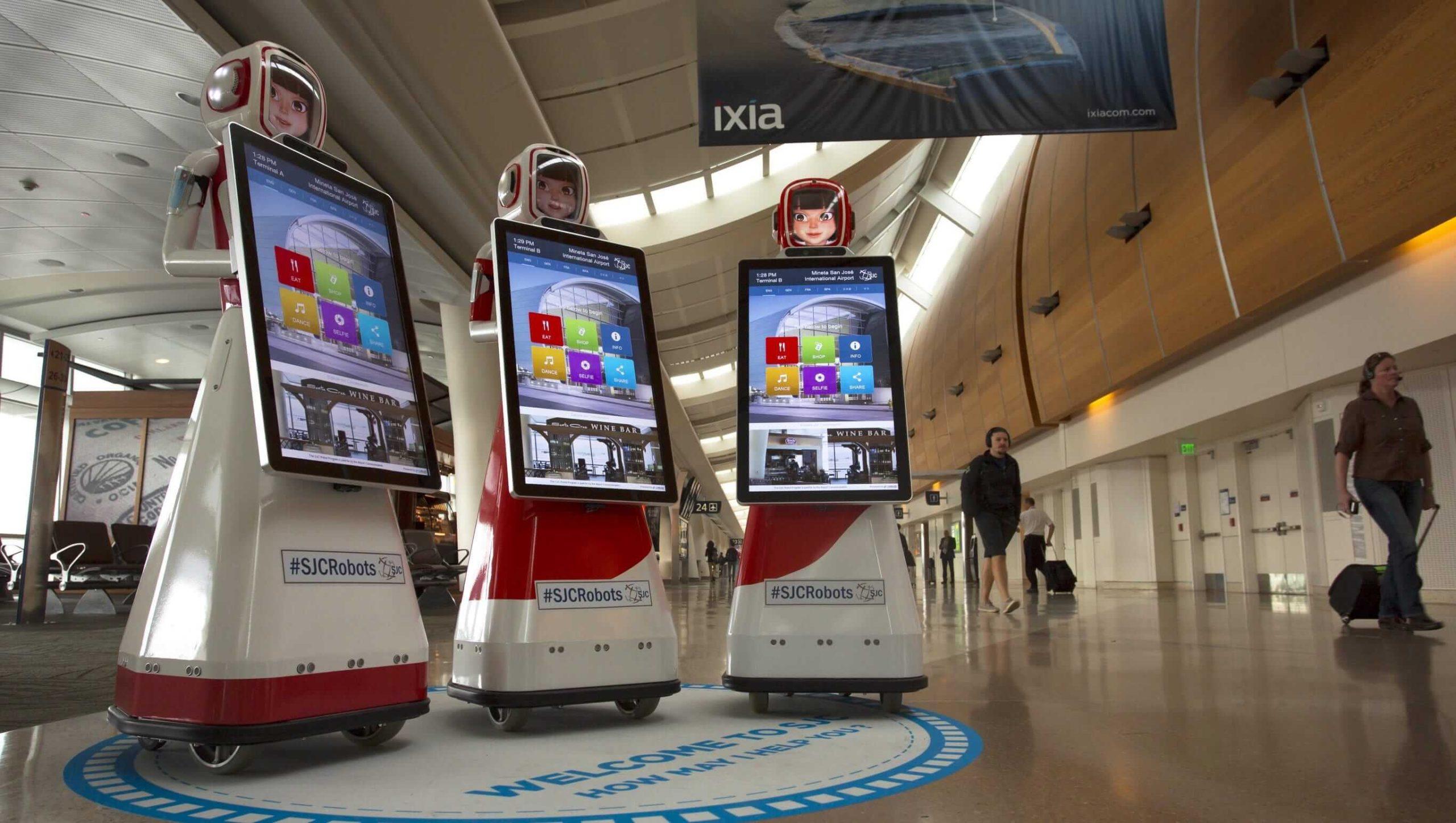 Robots-at-San-Jose-Airport
